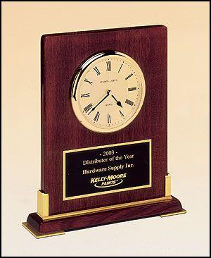 Desktop Rosewood Clock 1