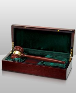 Rosewood Piano Gavel in a Box