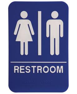 Restroom Signage