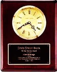 Plaque Clock 1